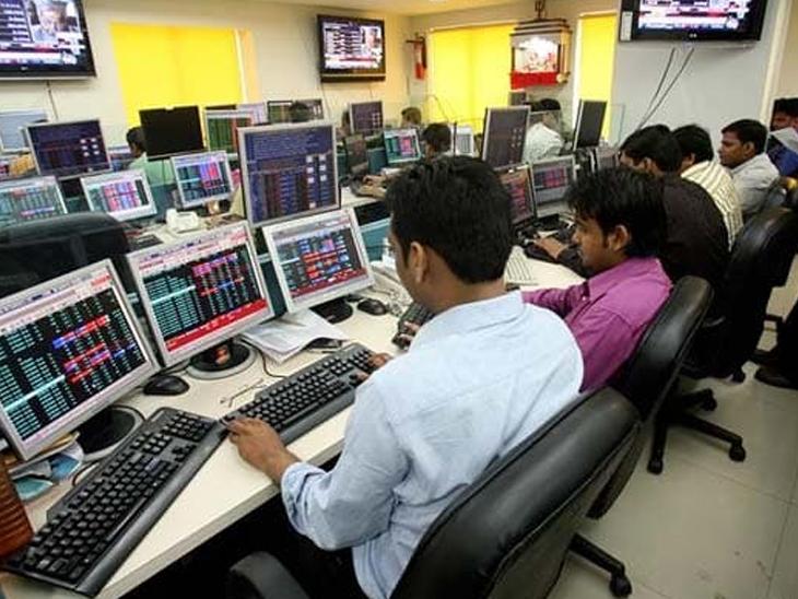 बाजार पर रेट कट नहीं होने और ग्रोथ का अनुमान घटने का असर; 52,100 पर बंद हुआ सेंसेक्स, 0.13% गिरकर 15,670 पर रहा निफ्टी बिजनेस,Business - Dainik Bhaskar
