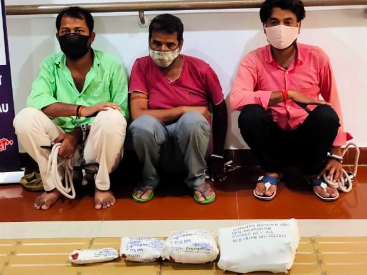 पहली बार मिली मॉर्फिन की खेप, नार्कोटिक्स की टीम ने 710 ग्राम के साथ पोस्टलपार्क के सन्नी समेत 3 को पकड़ा|बिहार,Bihar - Dainik Bhaskar