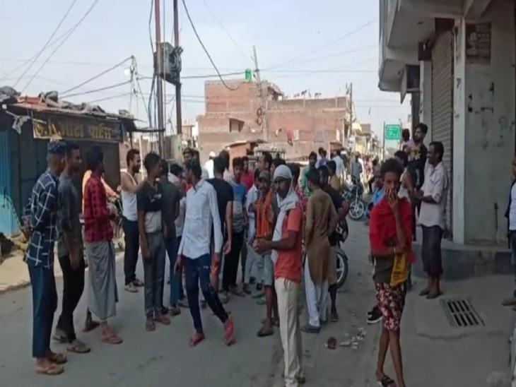 बरेली में युवक की करंट से मौत, लापरवाही का आरोप लगाकर परिजनों ने काटा हंगामा|बरेली,Bareilly - Dainik Bhaskar