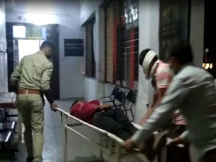 एक बाइक पर सवार थे चारों, पीछे से तेज रफ्तार ट्रक ने मारी टक्कर; मौके पर ही मौत|कानपुर,Kanpur - Dainik Bhaskar
