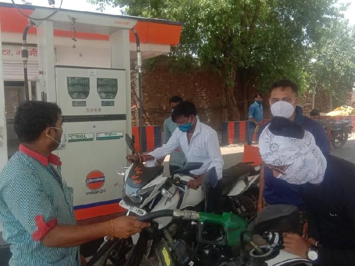ट्रांसपोर्टरों ने 5 से 10 रुपए बढ़ाया मालभाड़ा, बोले- डीजल महंगा हो गया|गोरमी,Gormi - Dainik Bhaskar