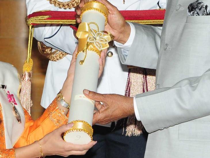 पद्म पुरस्कारों के लिए 1 जून से 15 सितंबर तक ऑनलाइन पोर्टल padmaawards.gov.in पर आवेदन करने के लिए विंडो खुली रहेगी। - Dainik Bhaskar