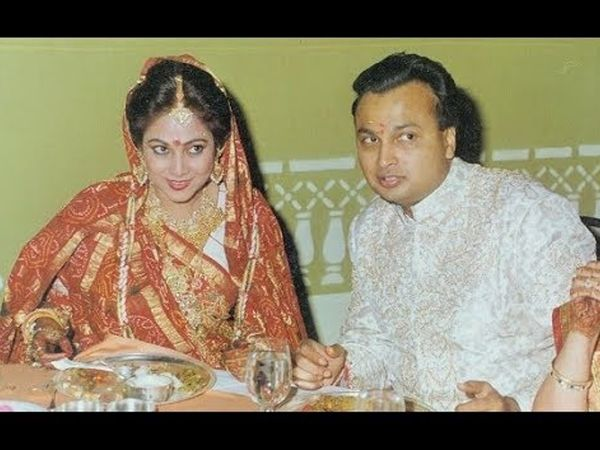 मैरिज फंक्शन में टीना को पहली बार देखते ही दिल दे बैठे थे अनिल अंबानी, पांच साल के उतार-चढ़ाव के बाद हुई थी दोनों की शादी बॉलीवुड,Bollywood - Dainik Bhaskar