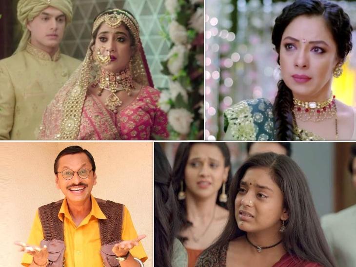 TV TRP Report: 'Taarak Mehta Ka Ooltah Chashmah' enters the top 5, 'Yeh Rishta Kya Kehlata Hai' show still remains the number one show   'तारक मेहता का उल्टा चश्मा' शो की टॉप 5 में एंट्री, अब भी नंबर वन शो बना हुआ है 'ये रिश्ता क्या कहलाता है'