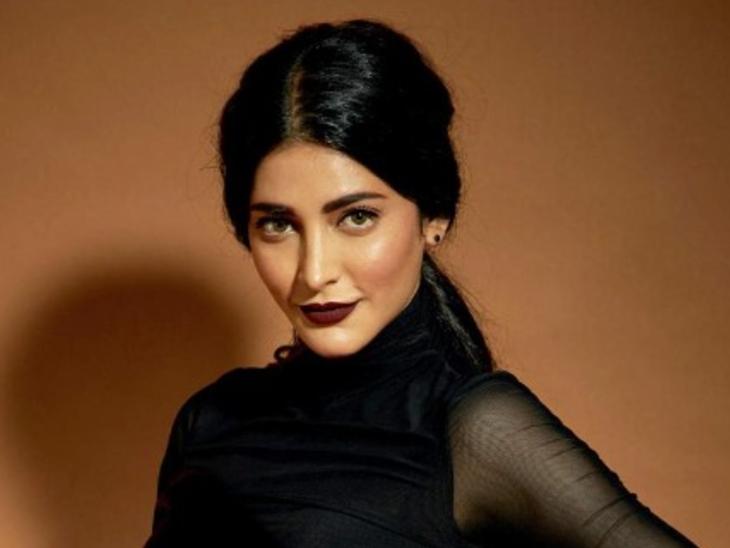 Shruti Haasan trolled for wearing black lipstick, said- people say what happened to you, you look like a witch   ब्लैक लिपस्टिक लगाने पर एक्ट्रेस हुईं ट्रोल, बोलीं- लोग कहते हैं आपको