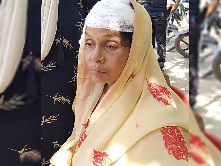 रोहतास में घरेलू विवाद में जेठानी ने रॉड से देवरानी का सिर फोड़ डाला; आधा दर्जन टांके लगने के बाद मांग ली माफी रोहतास,Rohtas - Dainik Bhaskar