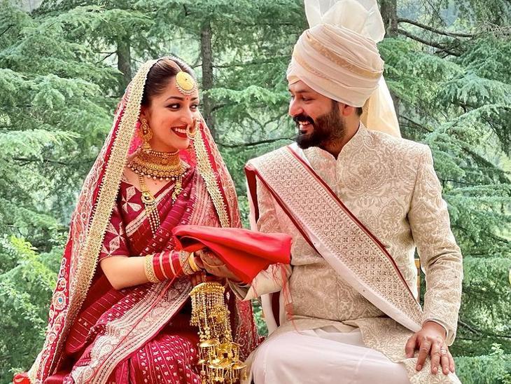 32 साल की एक्ट्रेस ने फिल्म 'उरी : द सर्जिकल स्ट्राइक' के डायरेक्टर से शादी की, कहा- प्यार और दोस्ती से शुरू हुआ था रिश्ता|बॉलीवुड,Bollywood - Dainik Bhaskar