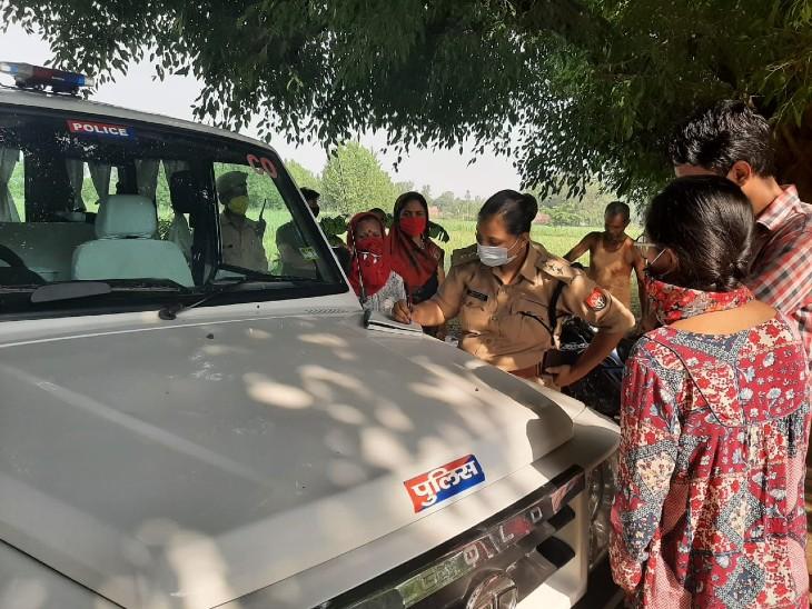एसएसपी रोहित सिंह सजवाण ने बताया कि पांच आरोपियों के खिलाफ नामजद मामला दर्ज किया गया है। पीड़िता का मेडिकल कराया जा रहा है। - Dainik Bhaskar
