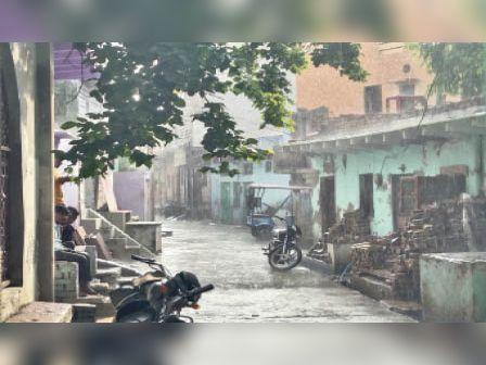 भरतपुर में 20 जून तक दस्तक दे सकता है मानसून|भरतपुर,Bharatpur - Dainik Bhaskar