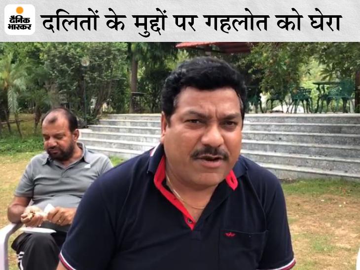 कांग्रेस विधायक वेदप्रकाश सोलंकी। - Dainik Bhaskar