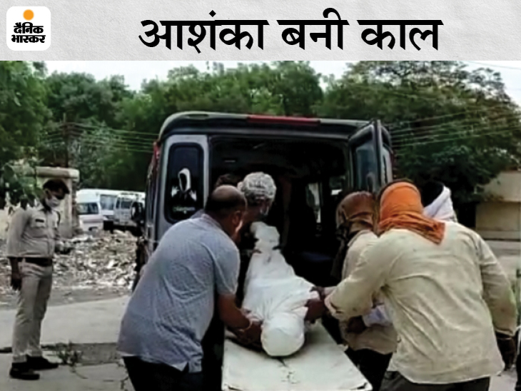 शराब बेचने के शक में 50 वर्षीय व्यक्ति कोथाने ले गई पुलिस; 1 घंटे में बेहोशी की हालत में घर छोड़ गए, अस्पताल में मौत, 3 लाइन अटैच|रतलाम,Ratlam - Dainik Bhaskar