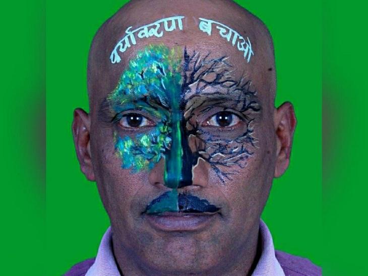 23 साल में 30 हजार पौधे रोपे, बंजर पहाड़ पर बना दिया जंगल; 35 से ज्यादा तालाबों की सफाई की, केंद्र सरकार ने कहा- वाटर हीरो छत्तीसगढ़,Chhattisgarh - Dainik Bhaskar