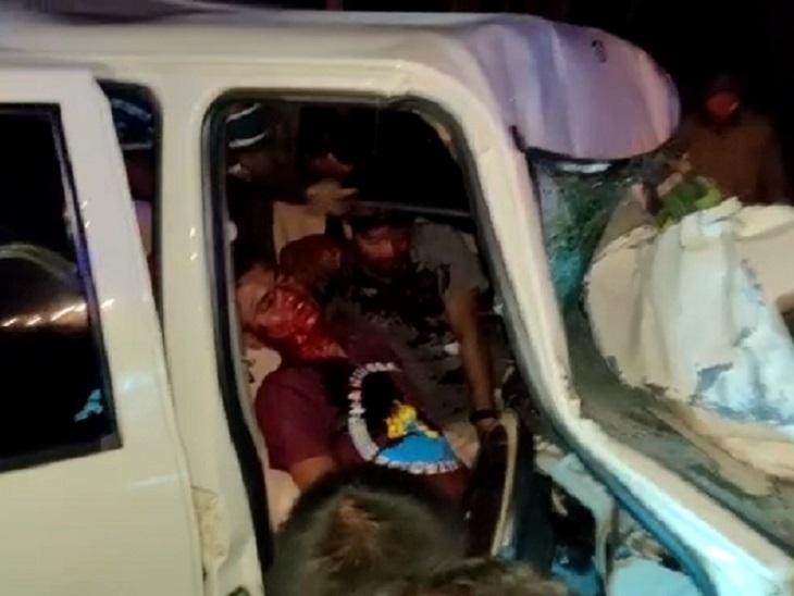 केशकाल में नेशनल हाईवे-30 पर पहुंचे ही थे कि बटराली गांव के पास सामने से आ रहे तेज रफ्तार ट्रक से टक्कर हो गई।