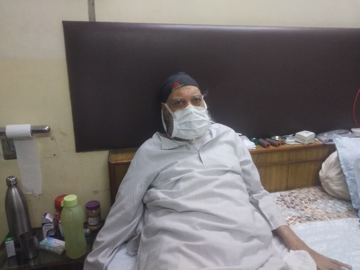 शरीर कमजोर, विल पावर स्ट्रोंग, अटल हौंसलों से हराया कोरोना|कोटा,Kota - Dainik Bhaskar