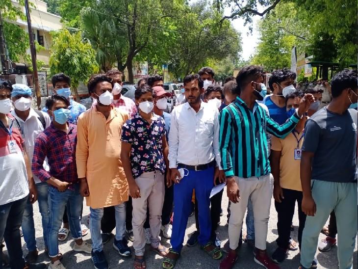 मेडिकल कॉलेज के कर्मचारी बोले- कोरोना काल में हमने जान की बाजी लगाकर ड्यूटी की, अब सरकार ने हमें नौकरी से ही हटा दिया मेरठ,Meerut - Dainik Bhaskar