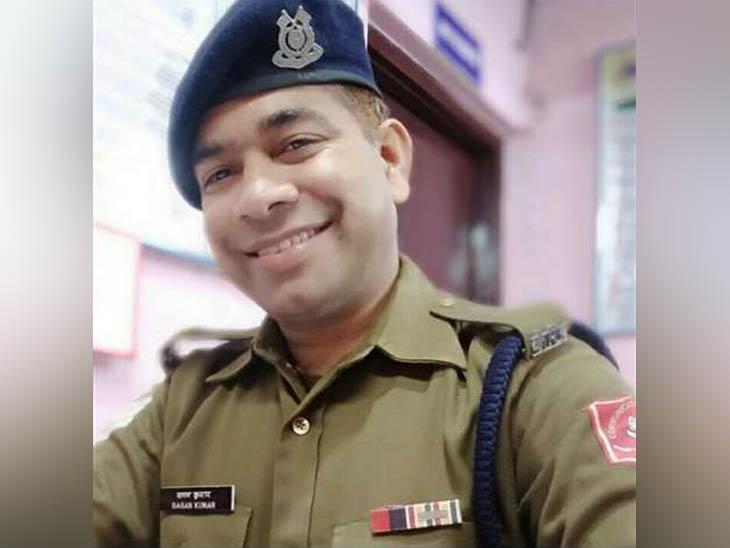 CRPF के हेड कॉन्स्टेबल शगुन कुमार की फाइल फोटो। - Dainik Bhaskar