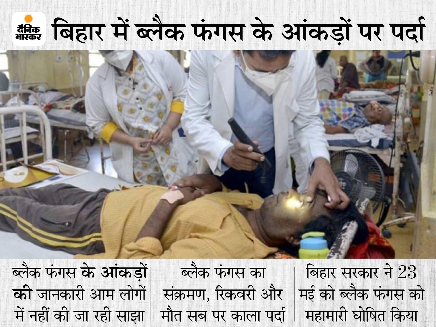 23 मई को बिहार में महामारी घोषित, 6 जून तक नहीं उठा आंकड़ों से पर्दा, ED से पूछने पर भी नहीं दी जानकारी|बिहार,Bihar - Dainik Bhaskar