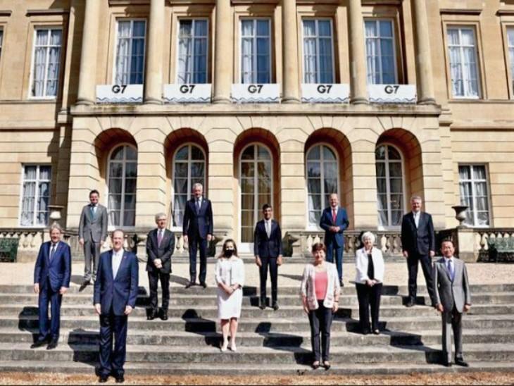 दुनिया की शीर्ष अर्थव्यवस्थाओं वाले देशों के समूह जी-7 ने बहुराष्ट्रीय कंपनियों पर टैक्स लगाने की 'ऐतिहासिक' डील फाइनल की है। - Dainik Bhaskar