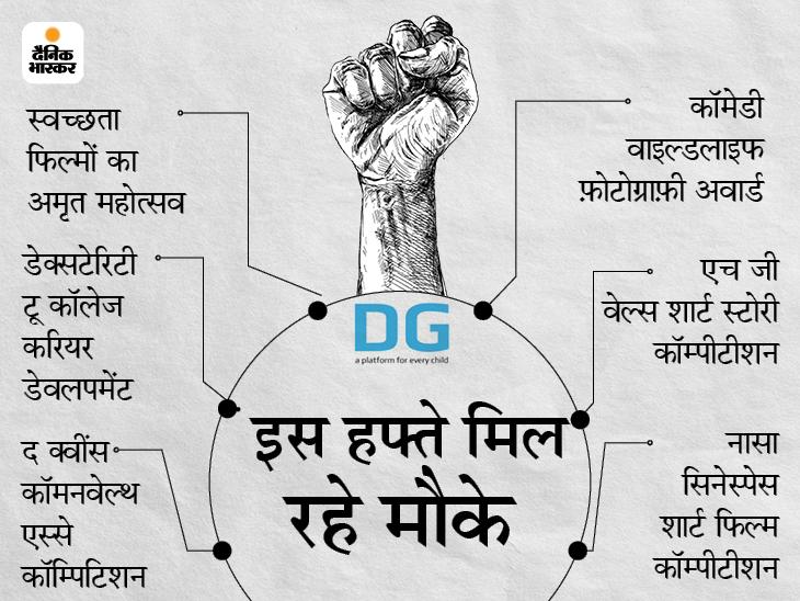 NASA समेत इंटरनेशनल कॉम्पीटीशन में टैलेंट दिखाकर अवार्ड जीतने के 6 मौके बिहार,Bihar - Dainik Bhaskar