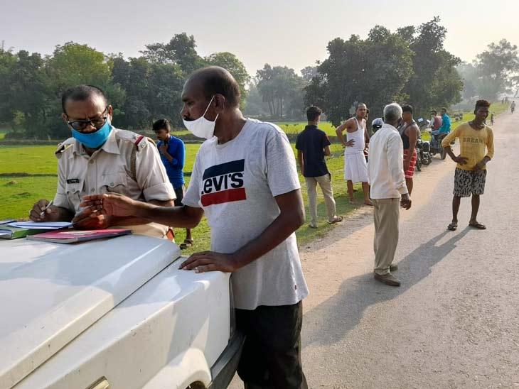 युवक की लाश पर चोट के मिले निशान, नहीं हो सकी पहचान; हत्या की आशंका झारखंड,Jharkhand - Dainik Bhaskar