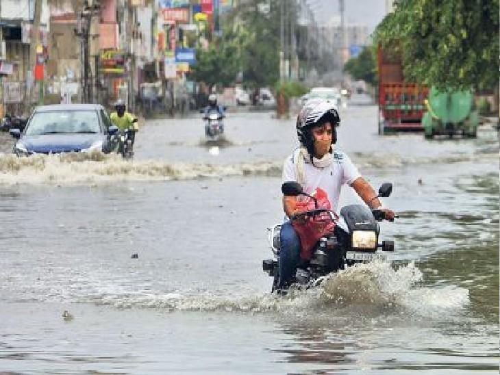 प्रदेश में मानसून की एंट्री जून के अंत तक होगी। हालांकि, उससे पहले जमकर प्री-मानसून बरसात हो रही है। - Dainik Bhaskar