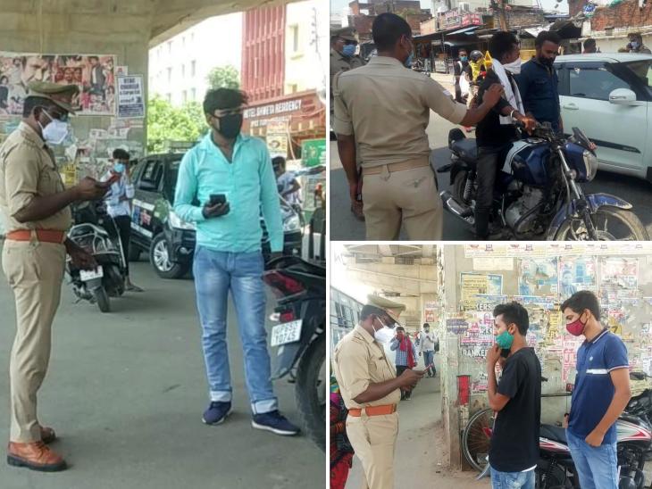 चेन स्नेचिंग के बढ़ते मामले देख पुलिस ने चलाया सघन चेकिंग अभियान, तेवर देख आमजन भी सहमें; सकरी गलियों पर खास नजर वाराणसी,Varanasi - Dainik Bhaskar