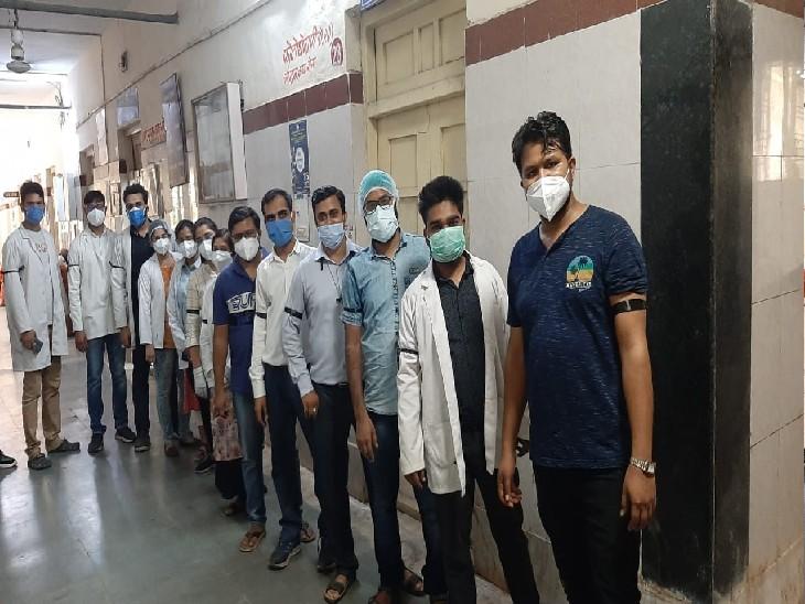 कोर्ट के सम्मान, परेशान हो रहे मरीजों के लिए जूडा ने वापस ली हड़ताल, जूडा अध्यक्ष बोले- हमारी मांगे मान ली गई हैं|ग्वालियर,Gwalior - Dainik Bhaskar