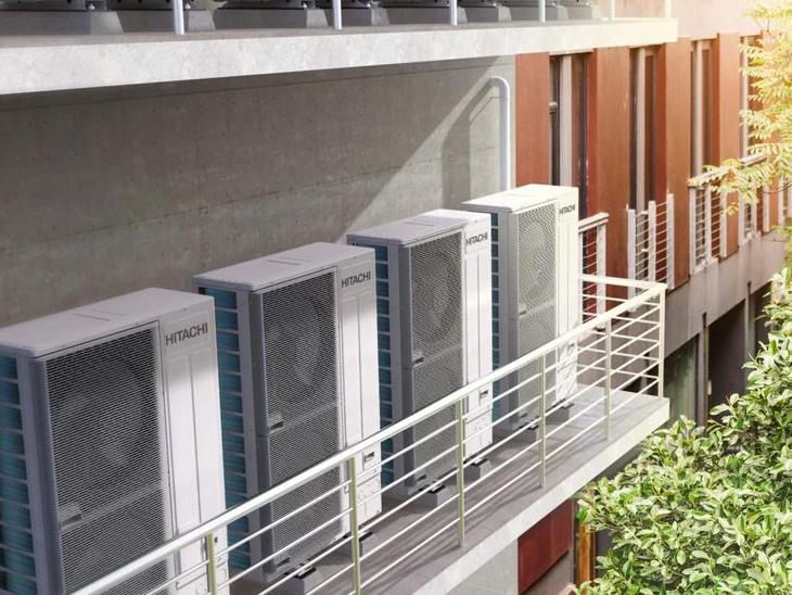 Hitachi launches new SideSmartTM, world's first modular side throw VRF air conditioning system   दुनिया का पहला साइड थ्रो VRF एयर कंडीशन लॉन्च, -20 डिग्री से 52 डिग्री सेल्सियस तक के तापमान पर काम करेगा