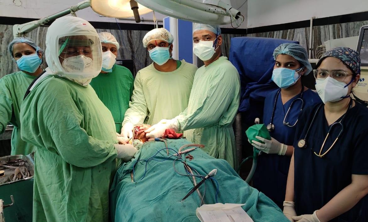बीकानेर में अब तक 42 रोगियों का ब्लैक फंगस का ऑपरेशन हो चुका, समय पर हुआ इलाज तो बच गई जान बीकानेर,Bikaner - Dainik Bhaskar