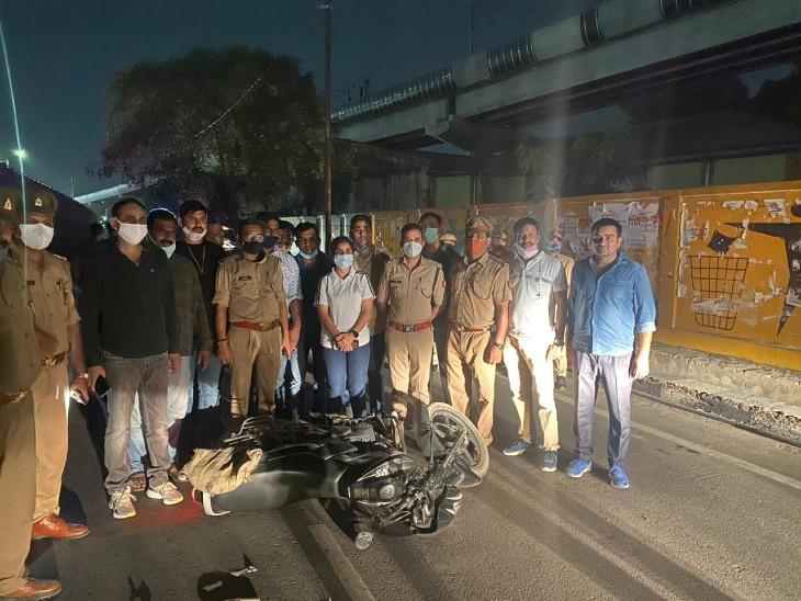 लखनऊ में देर रात डकैतों ने पुलिस टीम पर हमला किया, मुठभेड़ में नौ गिरफ्तार; कौशांबी में गो-तस्कर और बरेली में गैंगरेप का आरोपी दबोचा गया|लखनऊ,Lucknow - Dainik Bhaskar