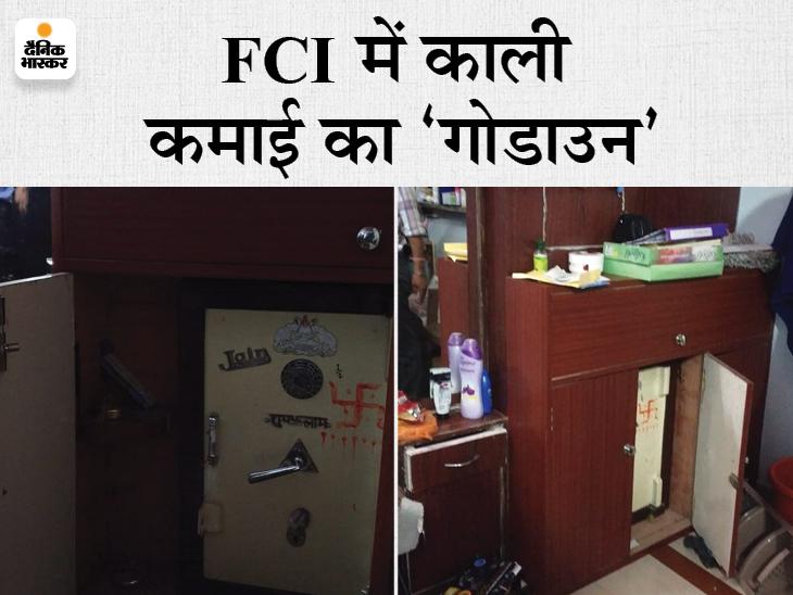 भोपाल में FCI अफसरों के रिश्वतकांड में एक साथ की कार्रवाई, कई दस्तावेज जब्त; जबलपुर-नरसिंहपुर में ट्रांसपोर्टरों के यहां सर्चिंग|जबलपुर,Jabalpur - Dainik Bhaskar