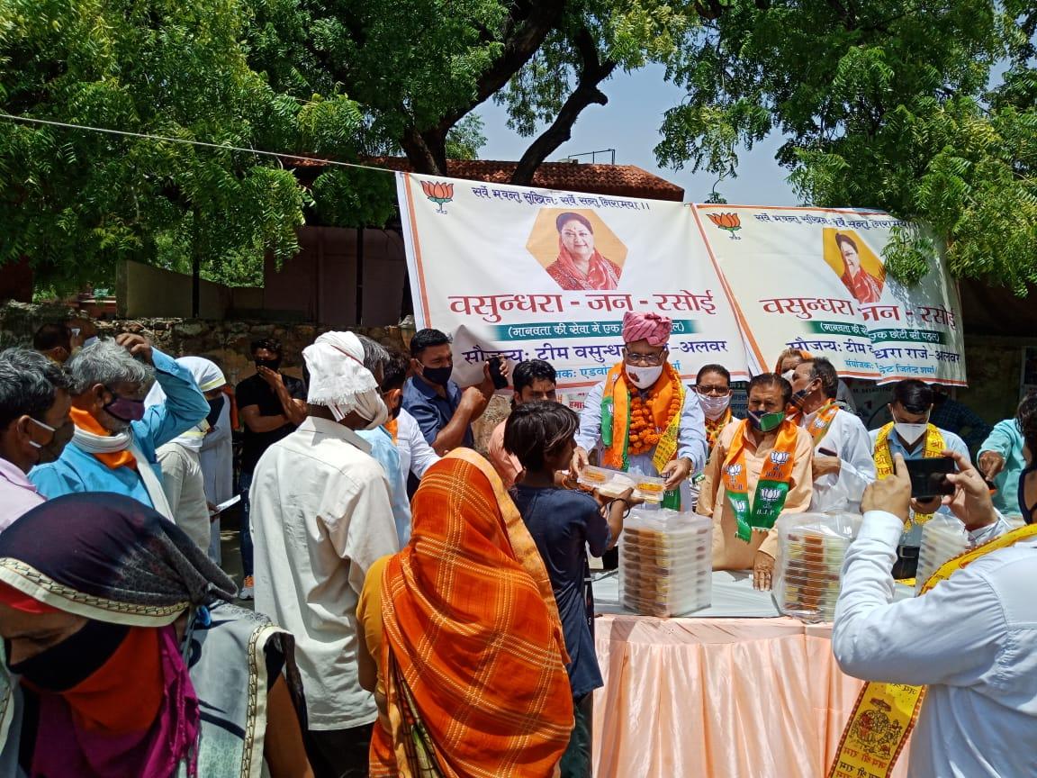पूर्व केबिनेट मंत्री रोहिताश्व शर्मा बोले- प्रदेशभर में 10 में से 9 लोग वसुंधरा का नाम ले रहे, भाजपा में बेस्ट लीडर तो वही|अलवर,Alwar - Dainik Bhaskar