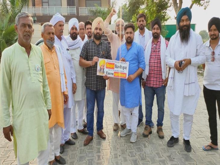 भाकियूप्रदेश अध्यक्ष चढ़ूनी करेंगे पानीपत से दिल्ली कूच का नेतृत्व, सिख निहंगऔर ऊंटों के साथ 25 हजार किसानों के कूच का दावा पानीपत,Panipat - Dainik Bhaskar