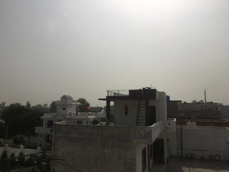 मौसम साफ होने के बाद दिन का दो और रात का चार डिग्री बढ़ा तापमान|पानीपत,Panipat - Dainik Bhaskar