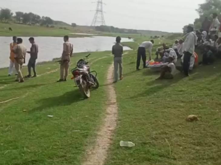 पुलिस का कहना है कि मामला संदिग्ध है। फिर भी जांच की जा रही है। - Dainik Bhaskar