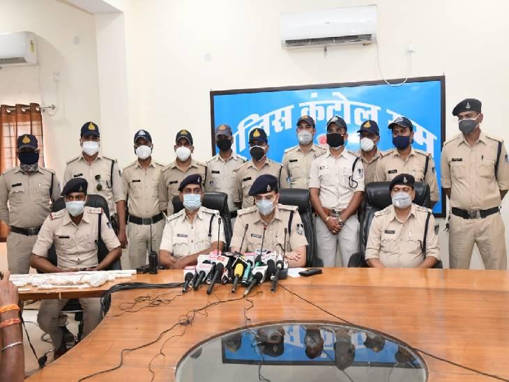 जबलपुर पुलिस ने 6 चोरों को दबोचा, एक बैंक और दो एटीएम में कर चुके थे चोरी का प्रयास, चौथी साजिश रचते गिरफ्तार जबलपुर,Jabalpur - Dainik Bhaskar