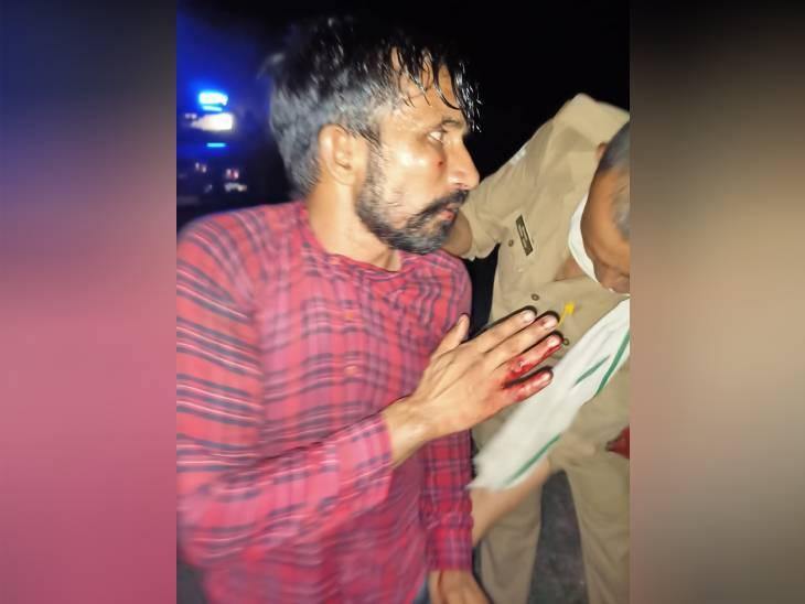 पंजाब से सिलीगुड़ी जा रही एंबुलेंस में युवक की चाकू से गोदकर हत्या; ड्राइवर ने बरनाला से बैठाए थे दो लोग|मेरठ,Meerut - Dainik Bhaskar