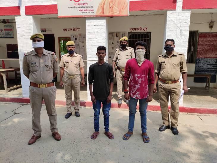 आजमगढ़ में फ्री में शराब ना मिलने से नाराज दबंगों ने सेल्समैन पर कट्टे से किया फायर, गिरफ्तार लखनऊ,Lucknow - Dainik Bhaskar