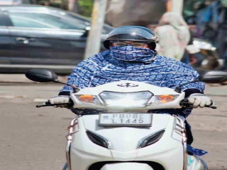 आज 410 पार जा सकता है पारा, 2 दिन आंधी के आसार; शाम 4 बजे 38 डिग्री हुआ रिकाॅर्ड, हवाएं भी हुईं धीमी|जालंधर,Jalandhar - Dainik Bhaskar