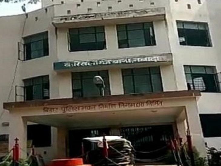 वारिसलीगंज थाने में आवेदन के आधार पर तीन लोगों के खिलाफ FIR दर्ज किया गया है। - Dainik Bhaskar