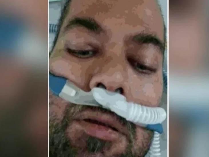 लुधियाना के सतगुरु प्रताप सिंंह अस्पताल में भर्ती DSP हरजिंदर सिंह। -फाइल फोटो