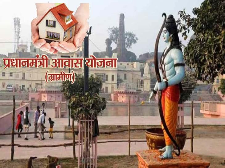 प्रधानमंत्री आवास योजना-ग्रामीण में जनपद प्रदेश की रैकिंग में प्रथम स्थान पर, DM ने दी बधाई|अयोध्या,Ayodhya - Dainik Bhaskar