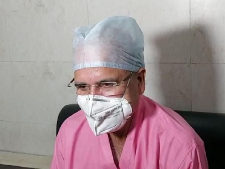 IMA छत्तीसगढ़ के डॉ राकेश गुप्ता ने ब्लैक फंगस के केसेस पर चिंता जाहिर कर सरकार से कहा है कि हम डॉक्टर्स मदद को तैयार हैं।