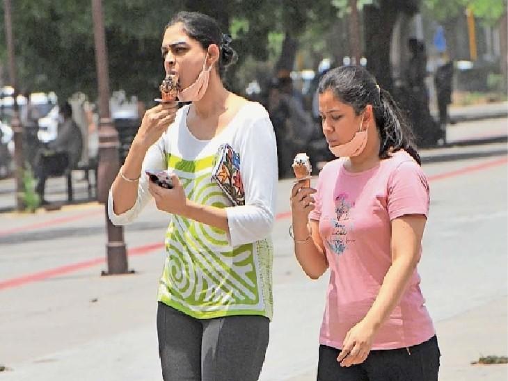 पारा 40.9 डिग्री पहुंचा: इस महीने का सबसे गर्म दिन; शुक्रवार को हो सकती है बारिश|चंडीगढ़,Chandigarh - Dainik Bhaskar