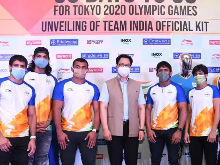 नॉन ब्रांडेड किट पहनकर उतरेंगे भारतीय खिलाड़ी, IOA ने चीन की कंपनी ली निंग का किट हटाया|स्पोर्ट्स,Sports - Dainik Bhaskar