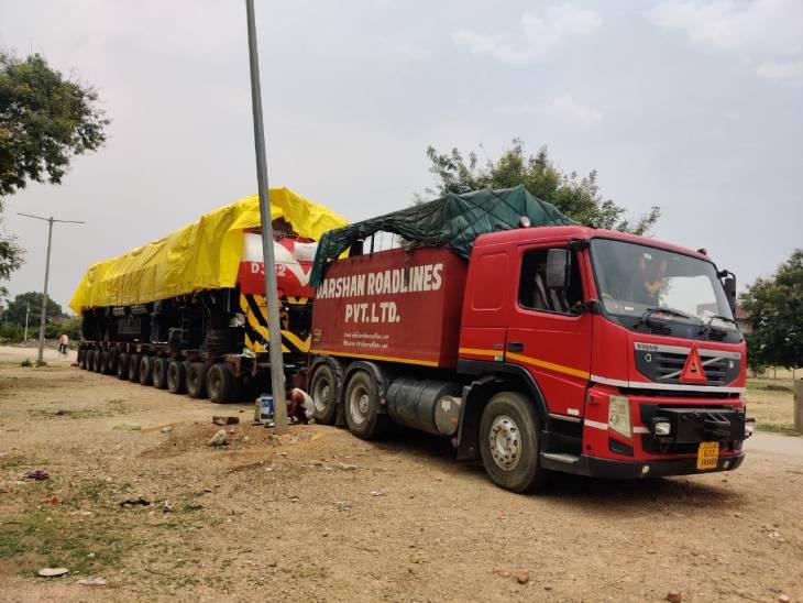 बीएलडब्लू में बना 3000 एचपी का रेल इंजन मोजांबिक किया गया रवाना, मेक इन इंडिया कार्यक्रम को बढ़ावा मिलेगा|वाराणसी,Varanasi - Dainik Bhaskar