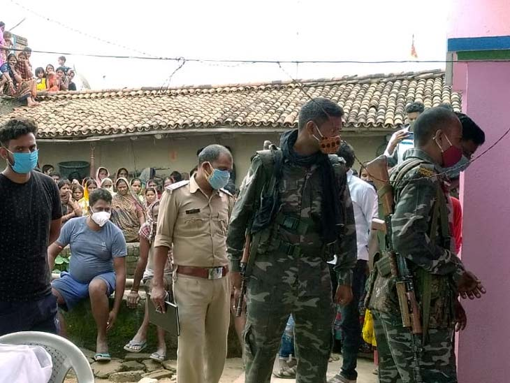 शरीर पर मिले चोट के निशान, पुलिस ने बहू और उसके परिजनों को लिया हिरासत में|झारखंड,Jharkhand - Dainik Bhaskar