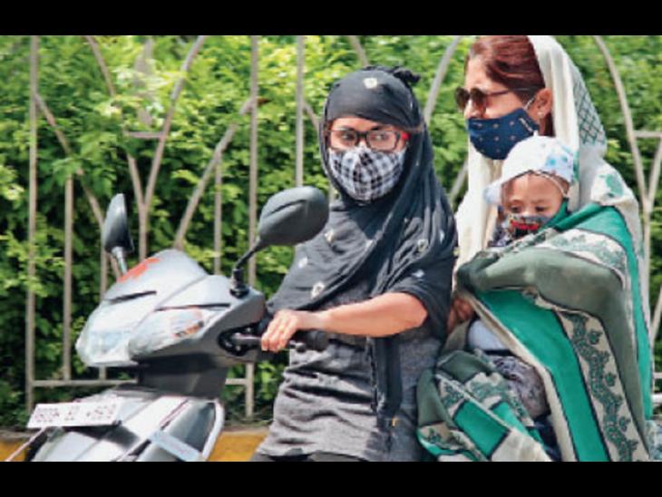 सीजन में अब तक सबसे गर्म दिन, पारा 43डिग्री|जालंधर,Jalandhar - Dainik Bhaskar