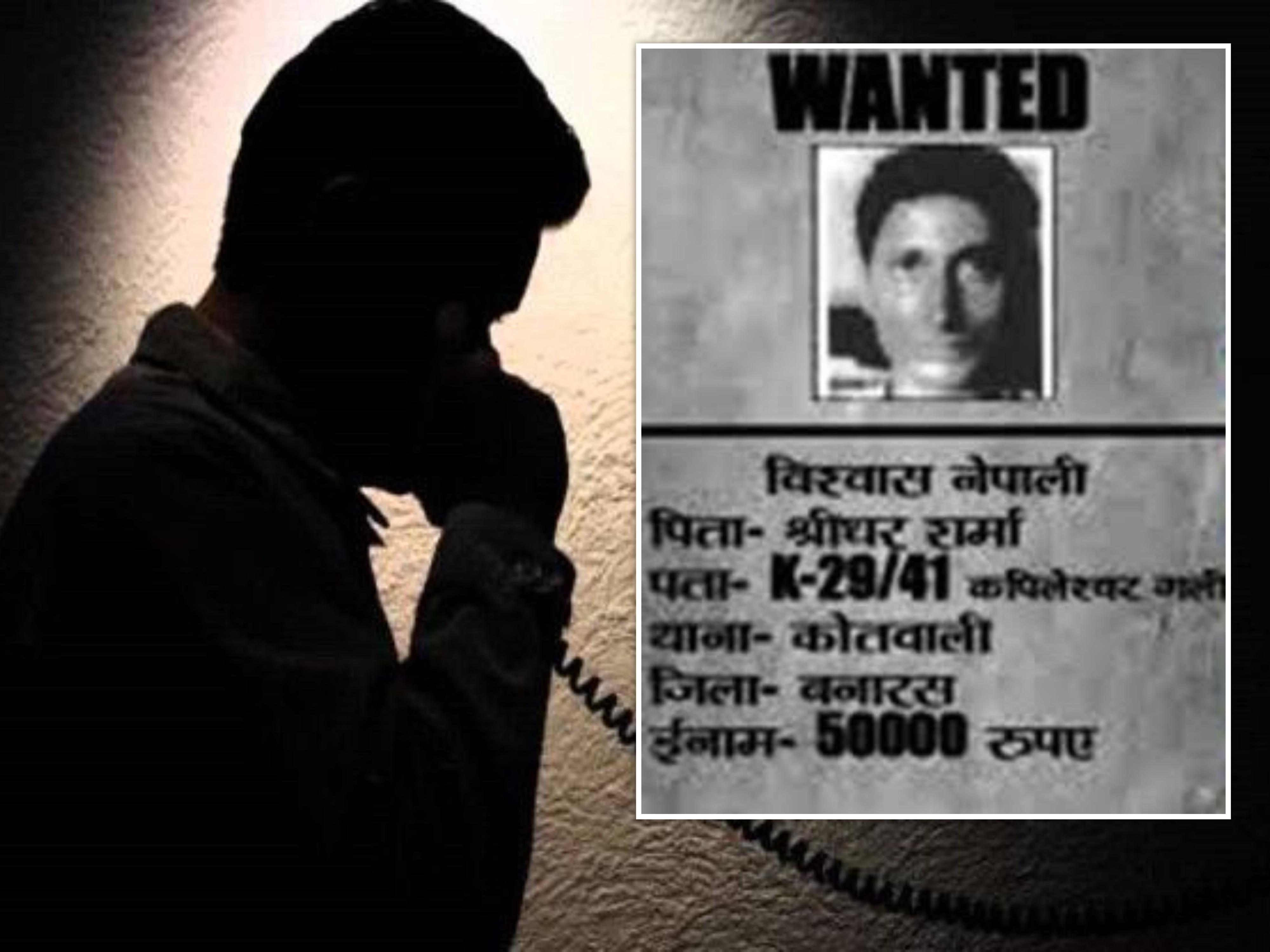 50 हजार के इनामी बदमाश ने ट्रांसपोर्टर से मांगी 50 लाख की रंगदारी, ऑफिस में धमकाया फिर किया फोन; 13 साल से है फरार|वाराणसी,Varanasi - Dainik Bhaskar