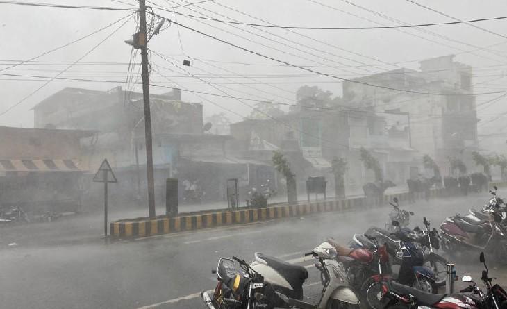 हवा-आंधी के साथ बीना में बारिश हुई। - Dainik Bhaskar